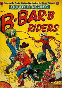 Cover Thumbnail for Bobby Benson's B-Bar-B Riders (Magazine Enterprises, 1950 series) #2