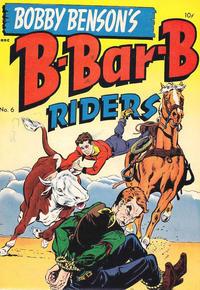 Cover Thumbnail for Bobby Benson's B-Bar-B Riders (Magazine Enterprises, 1950 series) #6