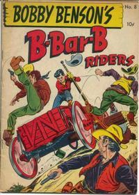 Cover Thumbnail for Bobby Benson's B-Bar-B Riders (Magazine Enterprises, 1950 series) #8