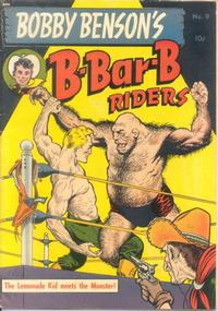 Cover Thumbnail for Bobby Benson's B-Bar-B Riders (Magazine Enterprises, 1950 series) #9