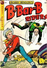 Cover Thumbnail for Bobby Benson's B-Bar-B Riders (Magazine Enterprises, 1950 series) #19