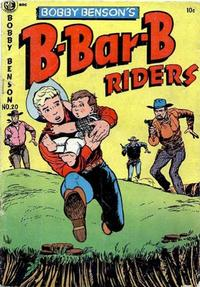 Cover Thumbnail for Bobby Benson's B-Bar-B Riders (Magazine Enterprises, 1950 series) #20