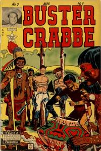 Cover Thumbnail for Buster Crabbe (Eastern Color, 1951 series) #7