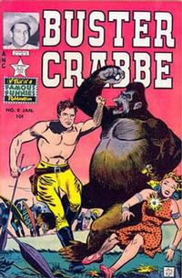 Cover Thumbnail for Buster Crabbe (Eastern Color, 1951 series) #8