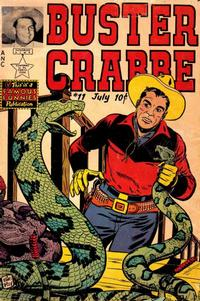 Cover Thumbnail for Buster Crabbe (Eastern Color, 1951 series) #11