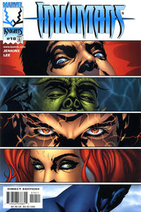 Cover Thumbnail for Inhumans (Marvel, 1998 series) #10