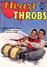 Cover Thumbnail for Heart Throbs (Quality Comics, 1949 series) #5