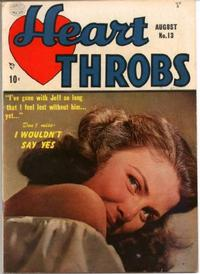 Cover Thumbnail for Heart Throbs (Quality Comics, 1949 series) #13