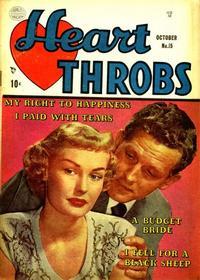 Cover Thumbnail for Heart Throbs (Quality Comics, 1949 series) #15
