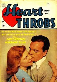 Cover Thumbnail for Heart Throbs (Quality Comics, 1949 series) #17