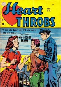 Cover Thumbnail for Heart Throbs (Quality Comics, 1949 series) #20