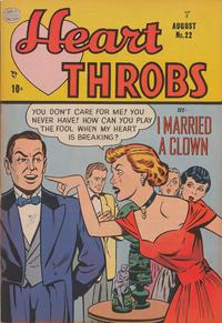Cover Thumbnail for Heart Throbs (Quality Comics, 1949 series) #22