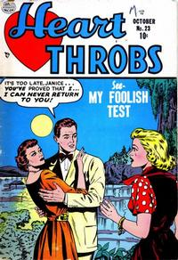 Cover Thumbnail for Heart Throbs (Quality Comics, 1949 series) #23