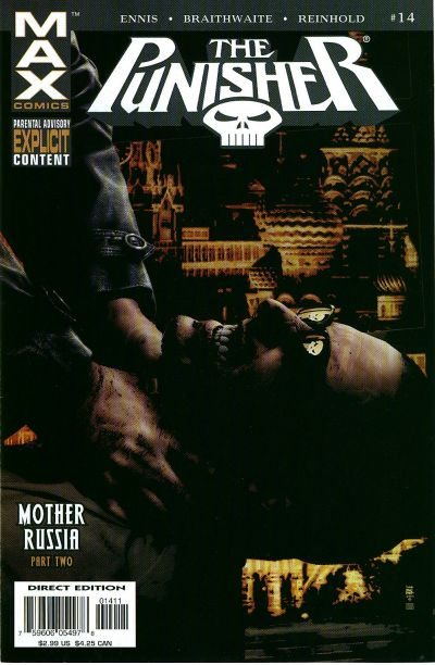Cover for Punisher (Marvel, 2004 series) #14