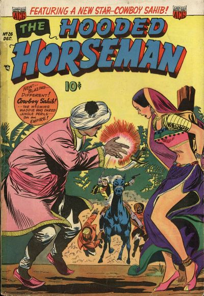 Cover for The Hooded Horseman (American Comics Group, 1952 series) #26