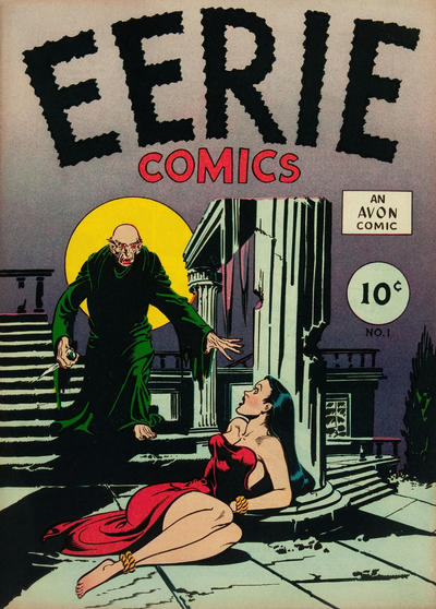 Cover for Eerie Comics (Avon, 1947 series) #1