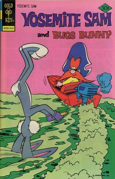 Cover for Yosemite Sam (Western, 1970 series) #40