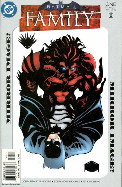 Cover for Batman: Family (DC, 2002 series) #1
