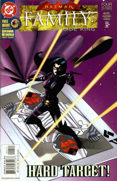 Cover for Batman: Family (DC, 2002 series) #4