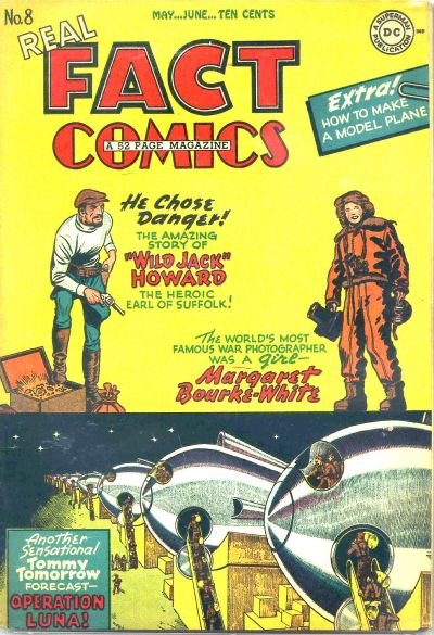 Cover for Real Fact Comics (DC, 1946 series) #8
