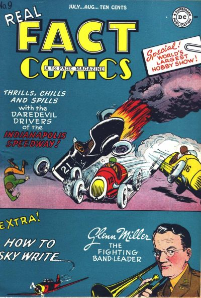 Cover for Real Fact Comics (DC, 1946 series) #9