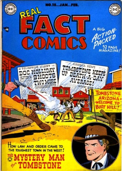 Cover for Real Fact Comics (DC, 1946 series) #18