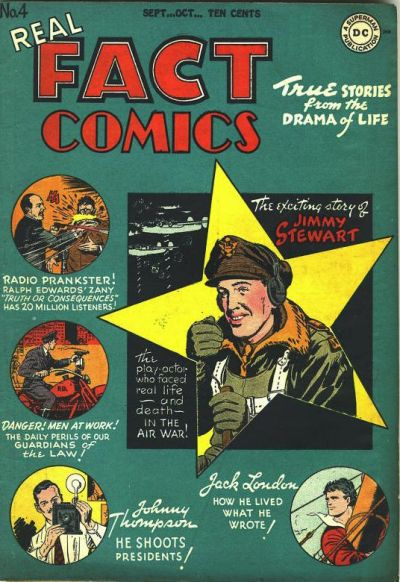 Cover for Real Fact Comics (DC, 1946 series) #4