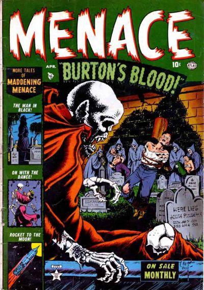 Cover for Menace (Marvel, 1953 series) #2