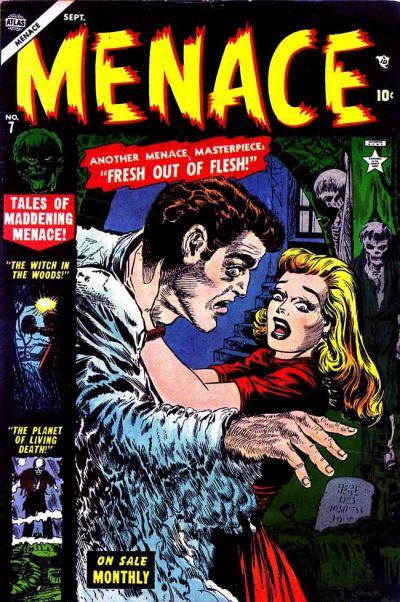 Cover for Menace (Marvel, 1953 series) #7