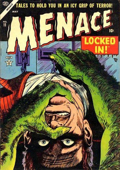 Cover for Menace (Marvel, 1953 series) #11