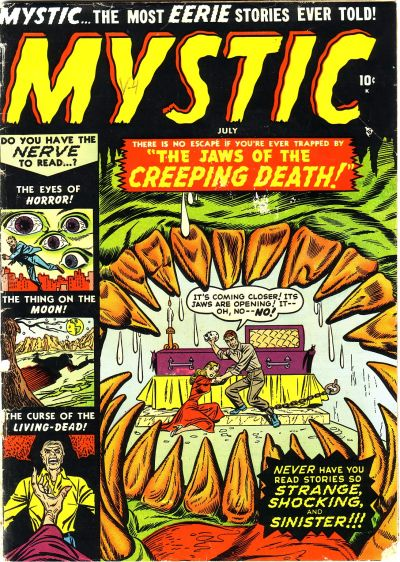 Cover for Mystic (Marvel, 1951 series) #3