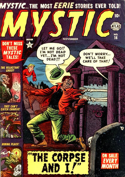 Cover for Mystic (Marvel, 1951 series) #14