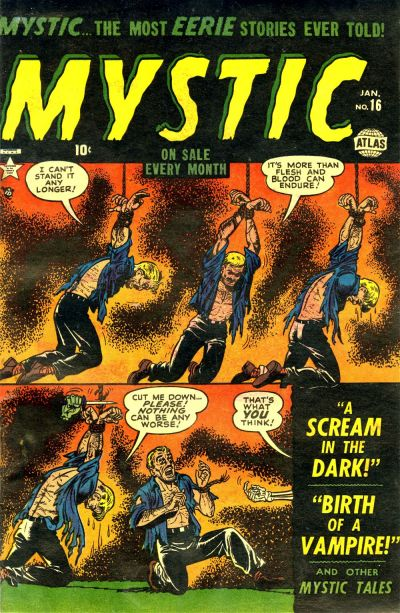 Cover for Mystic (Marvel, 1951 series) #16