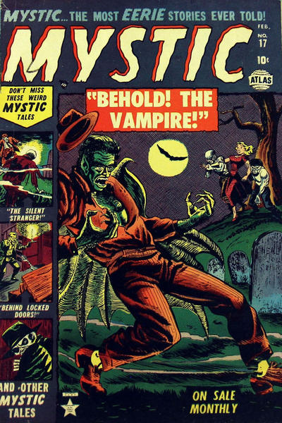 Cover for Mystic (Marvel, 1951 series) #17