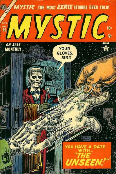 Cover for Mystic (Marvel, 1951 series) #29