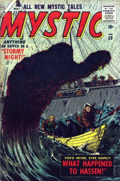 Cover for Mystic (Marvel, 1951 series) #59