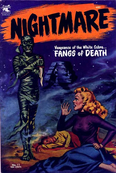 Cover for Nightmare (St. John, 1953 series) #11