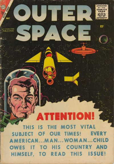 Cover for Outer Space (Charlton, 1958 series) #17