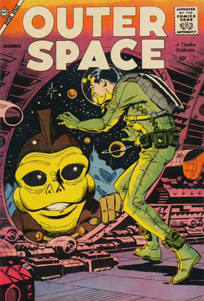Cover for Outer Space (Charlton, 1958 series) #20
