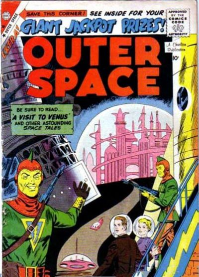 Cover for Outer Space (Charlton, 1958 series) #22