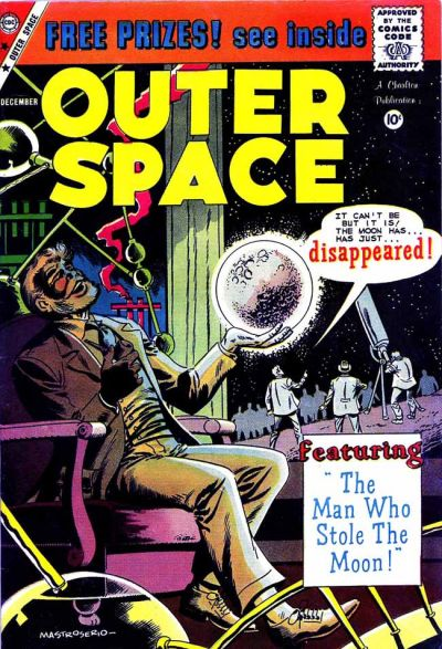 Cover for Outer Space (Charlton, 1958 series) #25