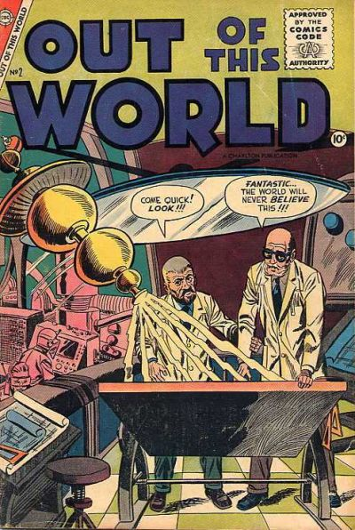 Cover for Out of This World (Charlton, 1956 series) #2