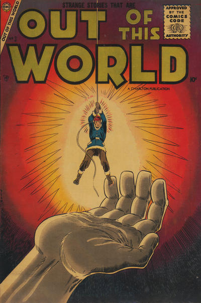 Cover for Out of This World (Charlton, 1956 series) #3