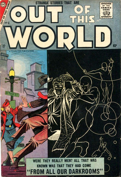 Cover for Out of This World (Charlton, 1956 series) #4