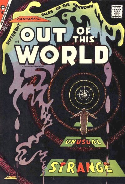 Cover for Out of This World (Charlton, 1956 series) #6