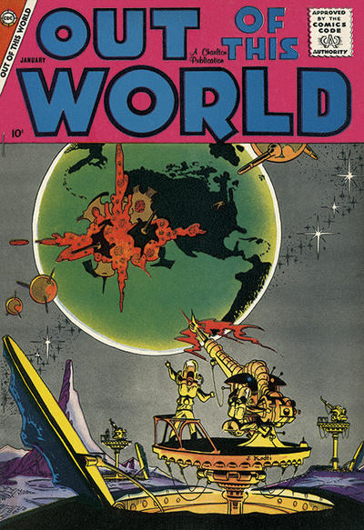 Cover for Out of This World (Charlton, 1956 series) #11