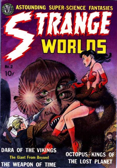 Cover for Strange Worlds (Avon, 1950 series) #2