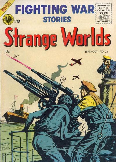 Cover for Strange Worlds (Avon, 1950 series) #22