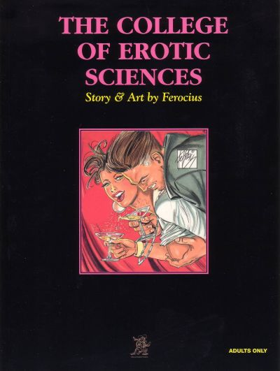 Cover for The College of Erotic Sciences (Last Gasp, 2000 series) #[nn]