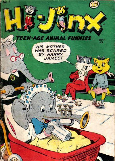 Cover for Hi-Jinx (American Comics Group, 1947 series) #2